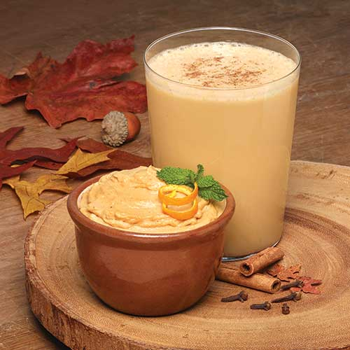 Pumpkin Pie Pudding And Shake