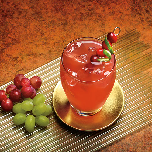Fruity Cranberry Grape Drink With Fiber