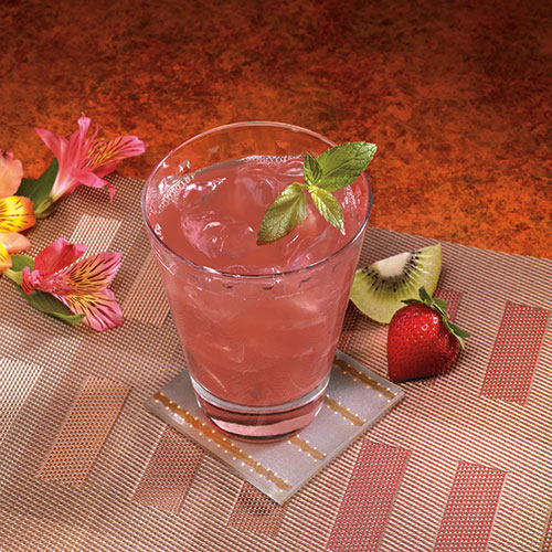 Fruity Strawberry Kiwi Drink With Fiber