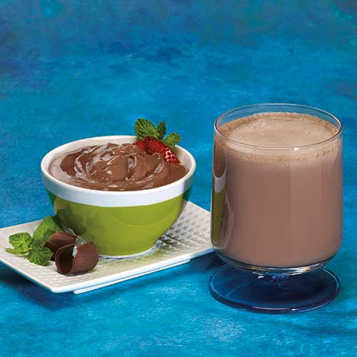 Mint Chocolate Pudding & Shake With Fiber