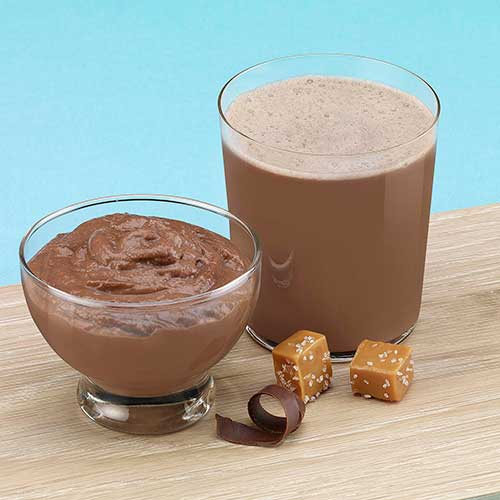 New Direction Chocolate Salted Caramel Pudding And Shake