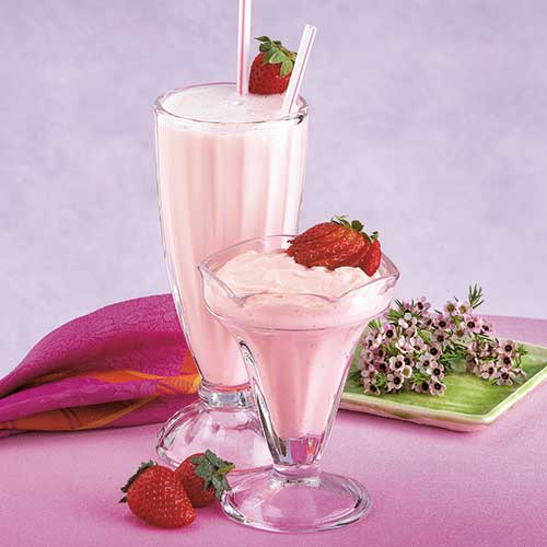 Very Strawberry Pudding & Shake With Fiber