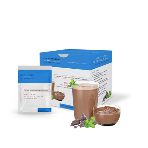 New Direction Advanced Chocolate Mint Fudge product line by Robard