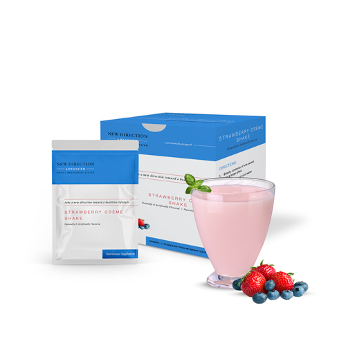 New Direction Advanced Strawberry Creme box by Robard