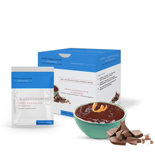New Direction Advanced Very Chocolate Pudding product line by Robard