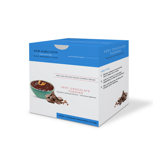 New Direction Advanced Very Chocolate Pudding Box By Robard
