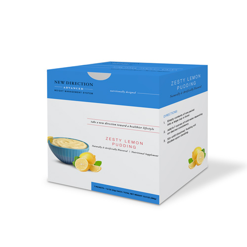 New Direction Advanced Zesty Lemon Pudding Box By Robard