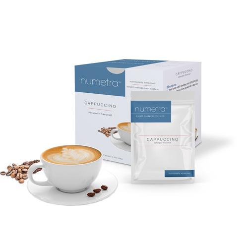 Numetra Cappuccino product line