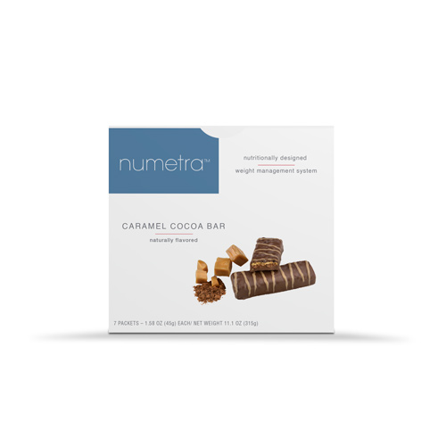 Numetra Caramel Cocoa Bar Box