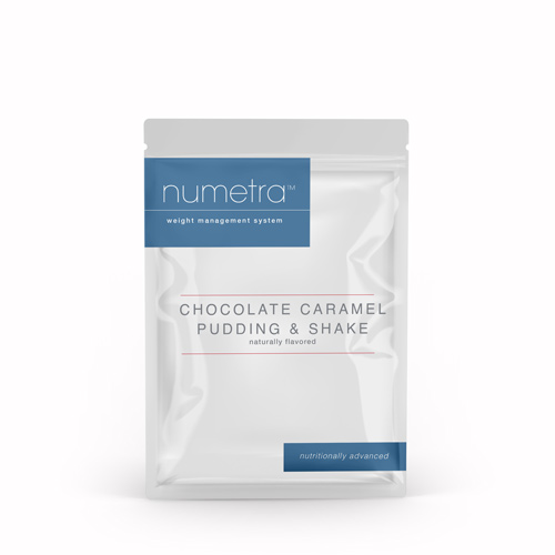 Numetra Chocolate Caramel Pudding & Shake foil