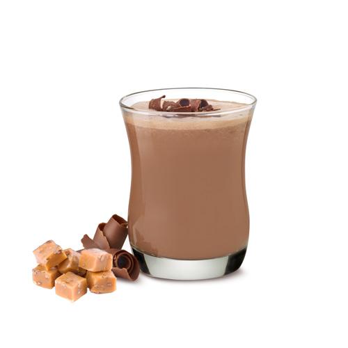 Numetra Chocolate Caramel Pudding & Shake