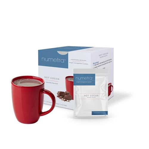 Numetra Hot Cocoa product line