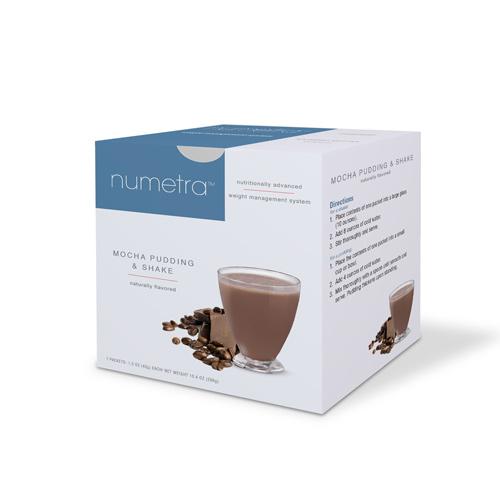 Numetra Mocha Pudding & Shake Box