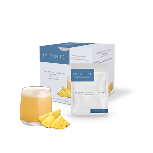 Numetra Pineapple Apricot Drink product line