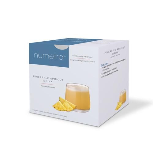 Numetra Pineapple Apricot Drink box