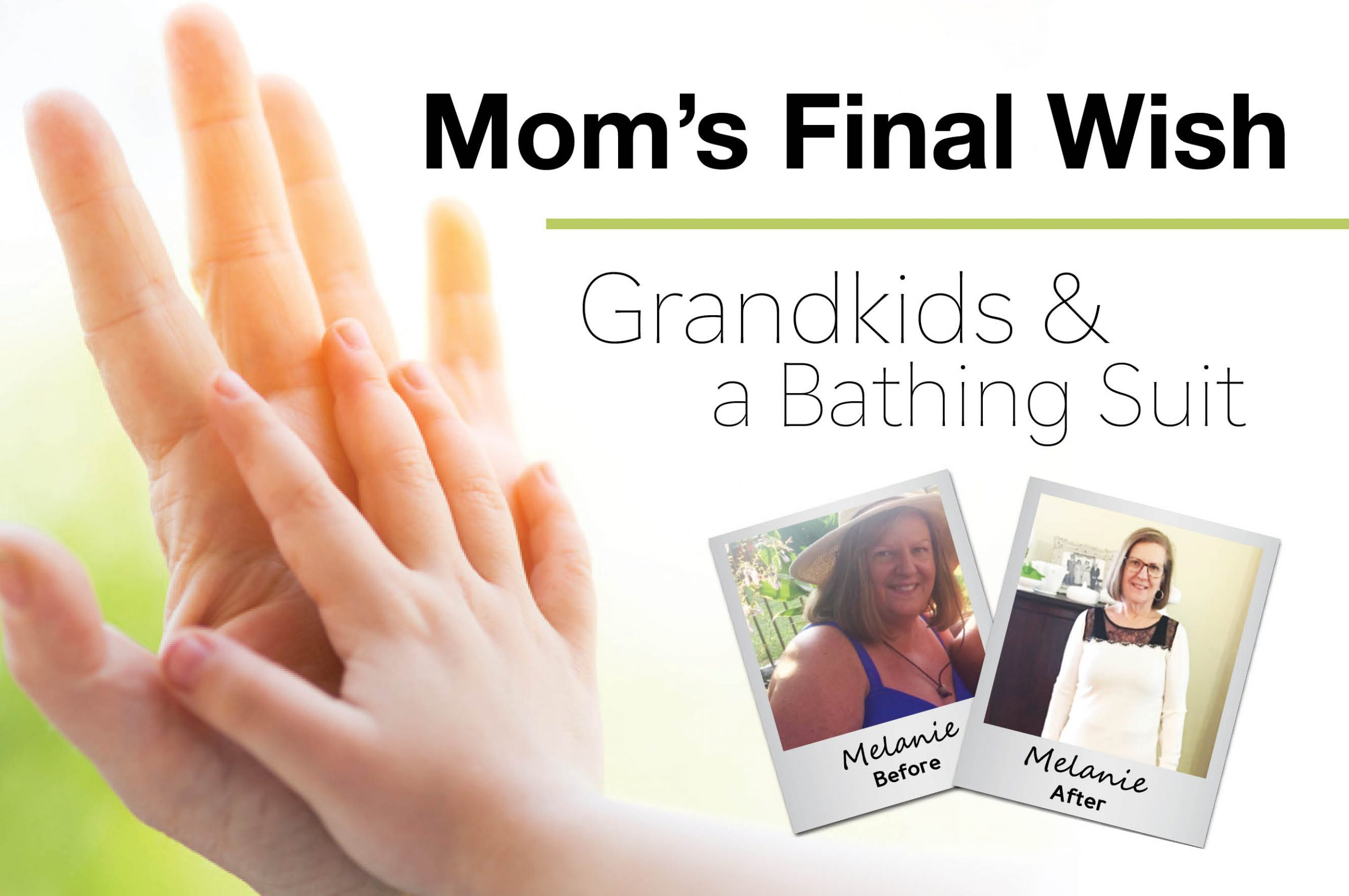 Mom's Final Wish: Grandkids And A Bathing Suit